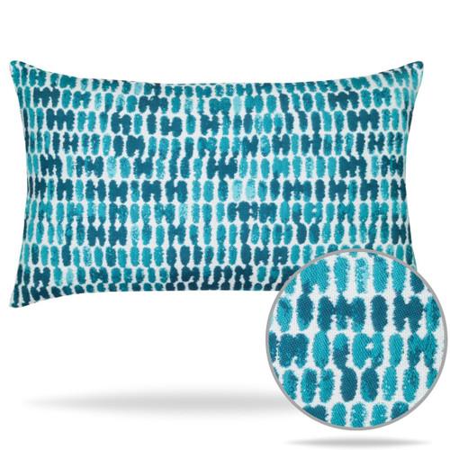 Thumbprint Aruba Lumbar Pillow