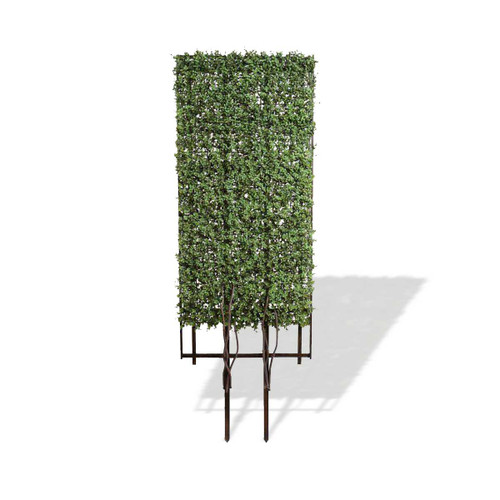 Enduraleaf Artificial Boxwood on Wood Trellis