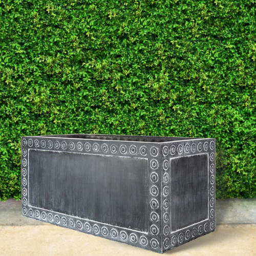 Cromwell Antique lead trough planter