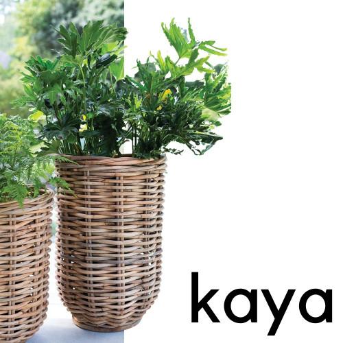 Kaya Rattan Basket Large