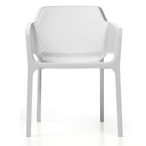 White Net Italian Chair