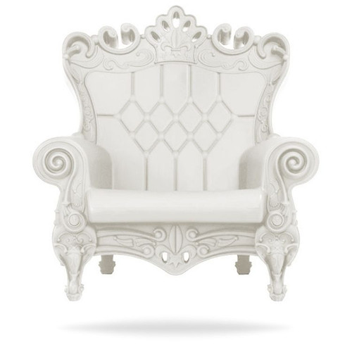Queen of Love Milky White Chair