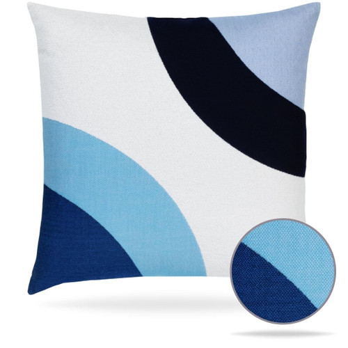 Encircle Wave Pillow Front
