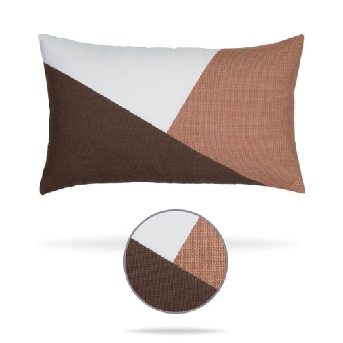 Geometry Earth Pillow Front