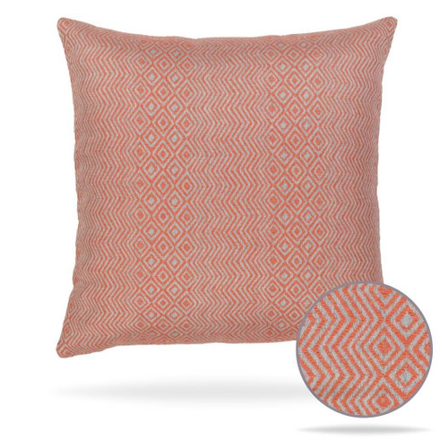 Kanga Papaya Pillow Front