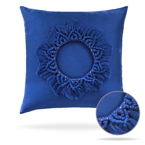 Mandala Lapis Pillow Front