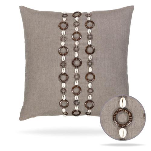 Tahiti Coconut Pillow Front