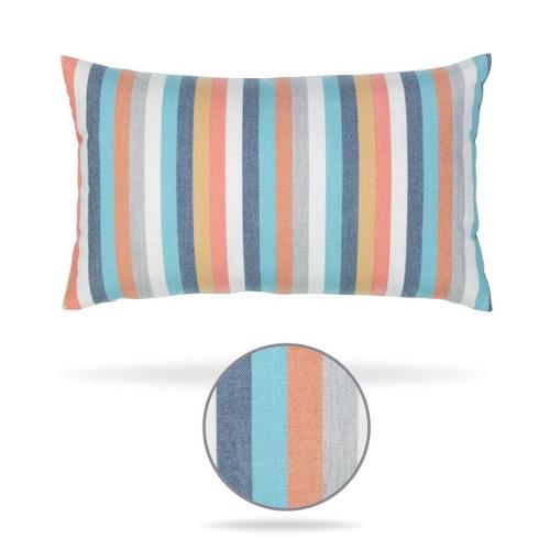 Corsica Lumbar Pillow front