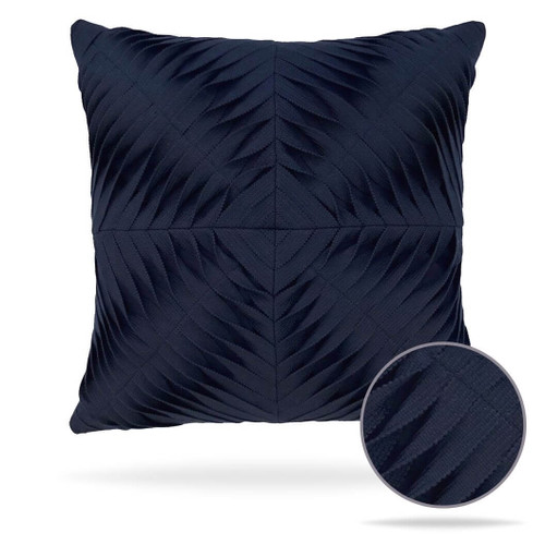 Dimension Navy Pillow Front