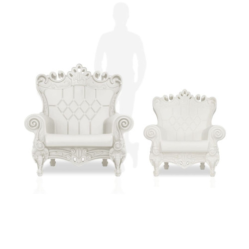 White with Original Adult Chair