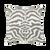 "Elaine Smith Zebra Gray Outdoor Pillow 20"" x 20"""