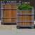 Manoir Oak Planter Sizes