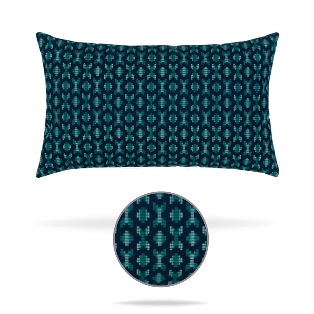 15s3-alcazar-peacock-lumbar pillow Elaine Smith
