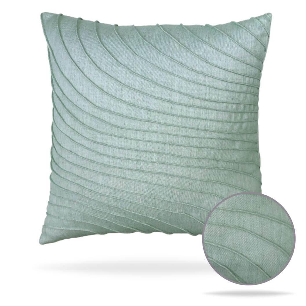 19t2-tidal-glacier Elaine Smith Outdoor Pillow