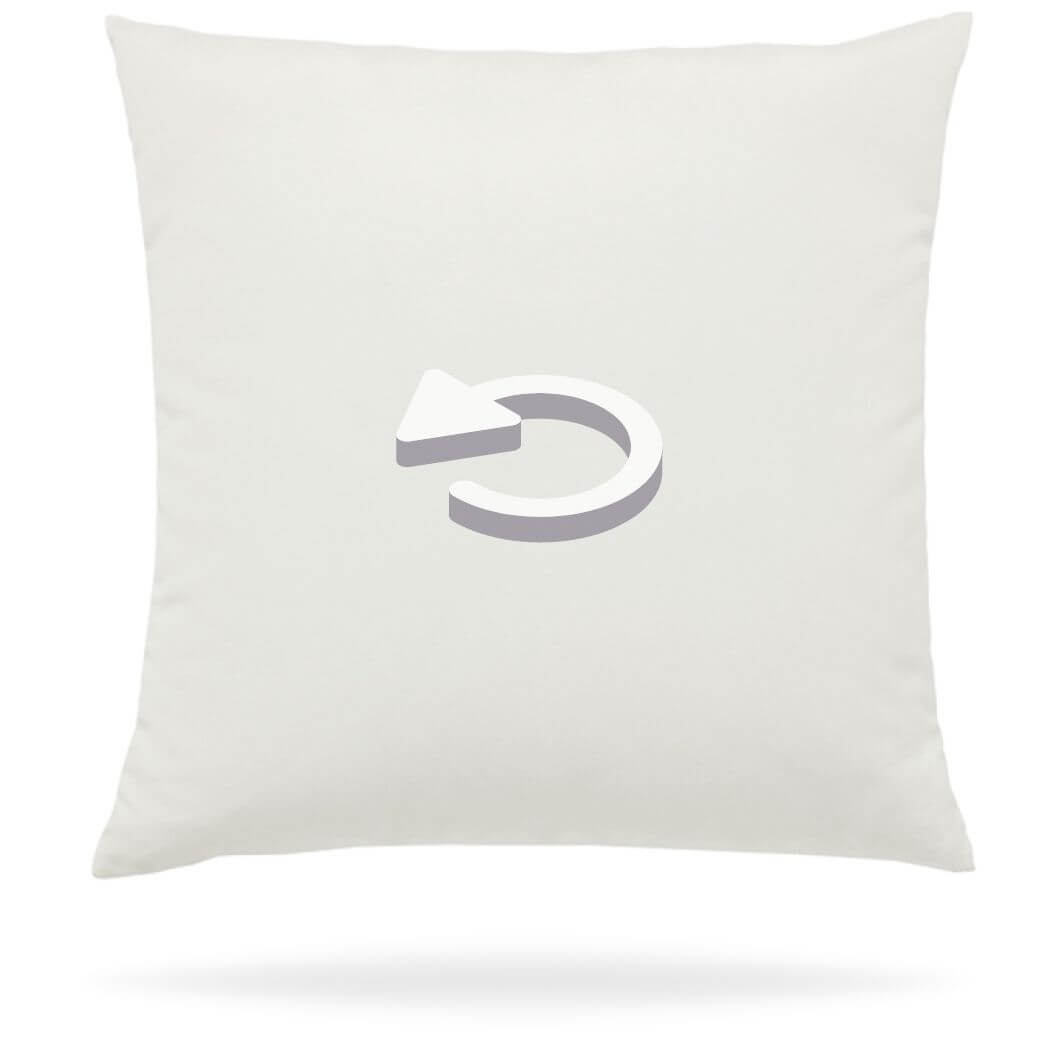 Reverse Outdoor Pillow Side