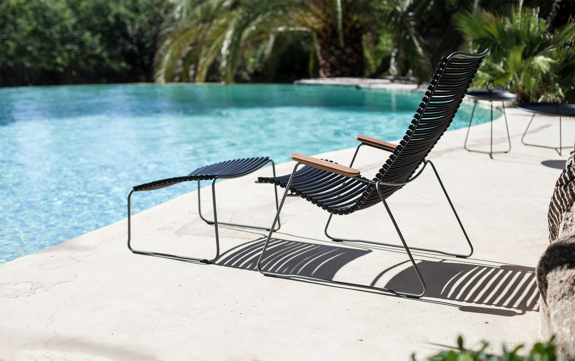 The playnk lounge chair is simple sophistication