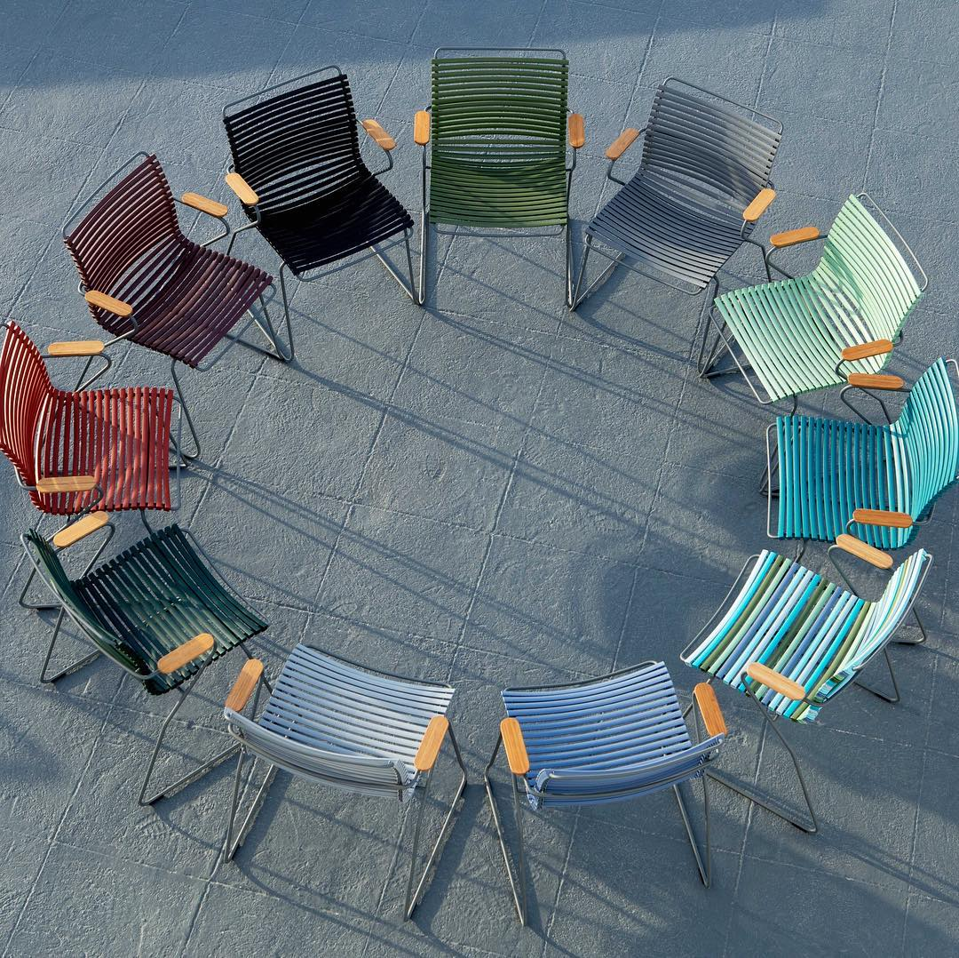 Playnk Armchairs for Dining in a full array of colors