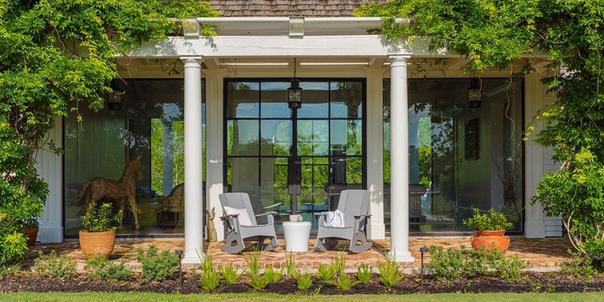 Affinity Side Table is at home on the Porch or Pool