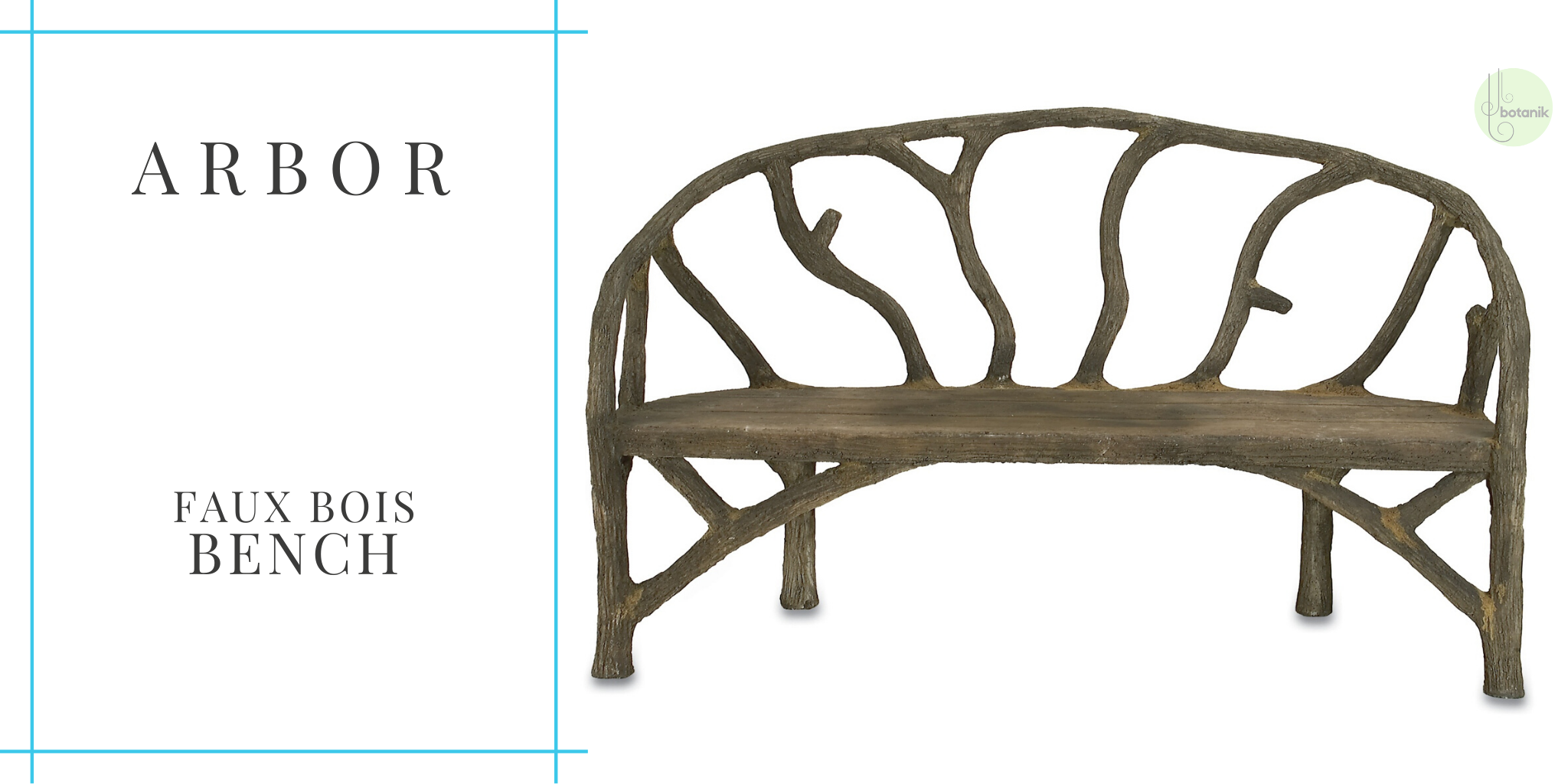 arbor-faux-bois-bench-from-currey