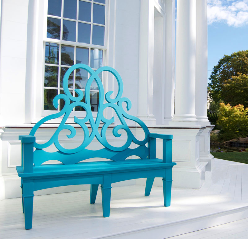 Sophisticated USA Crafted Garden Bench
