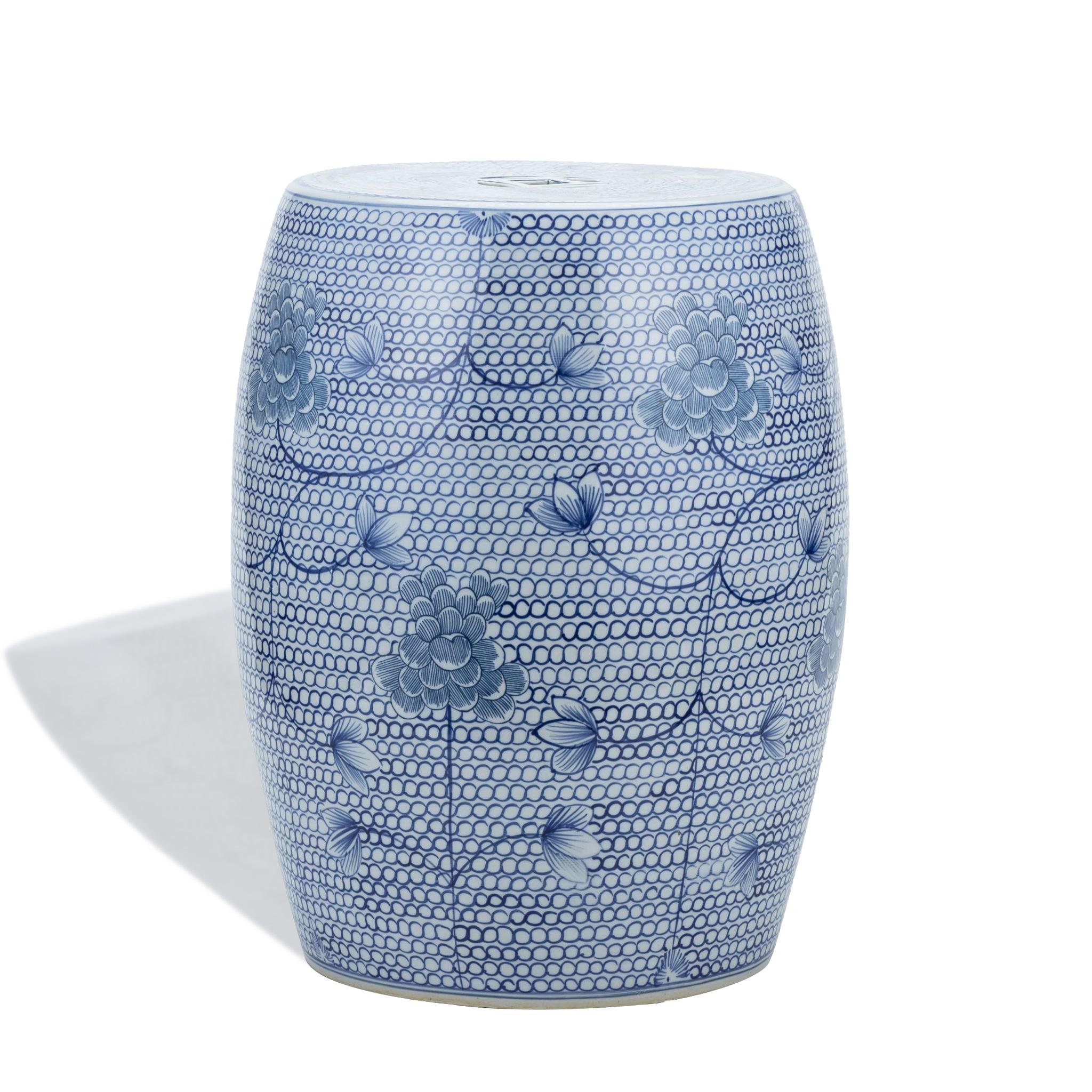 blue-chain-porcelain-garden-stool