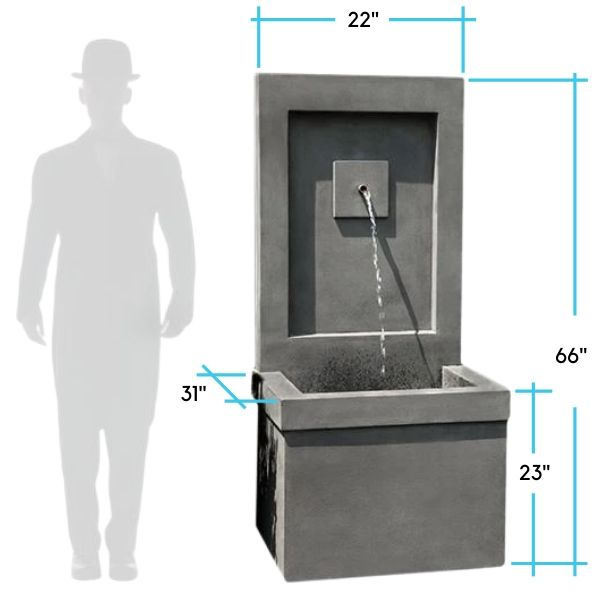 brentwood-fountain-dimensions