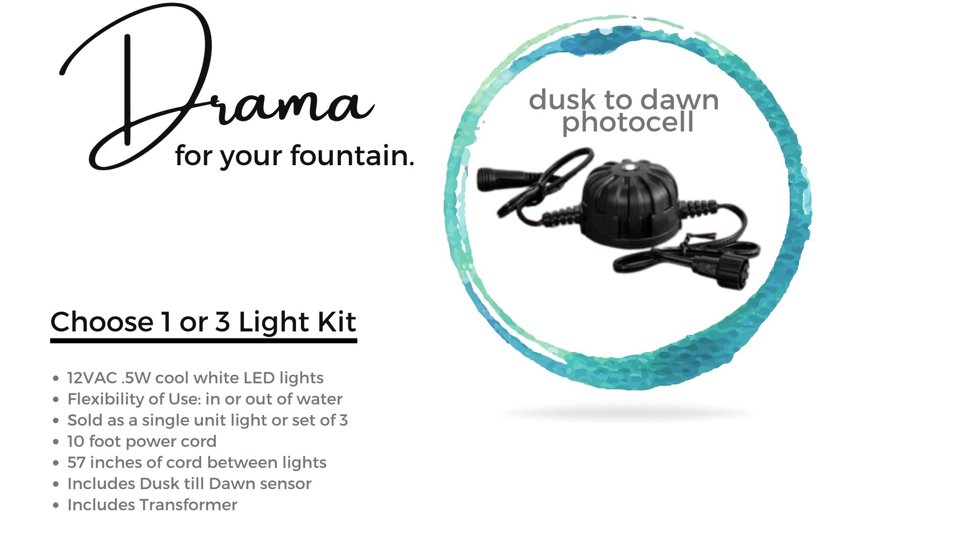 campania-fountain led lighting-kit-2