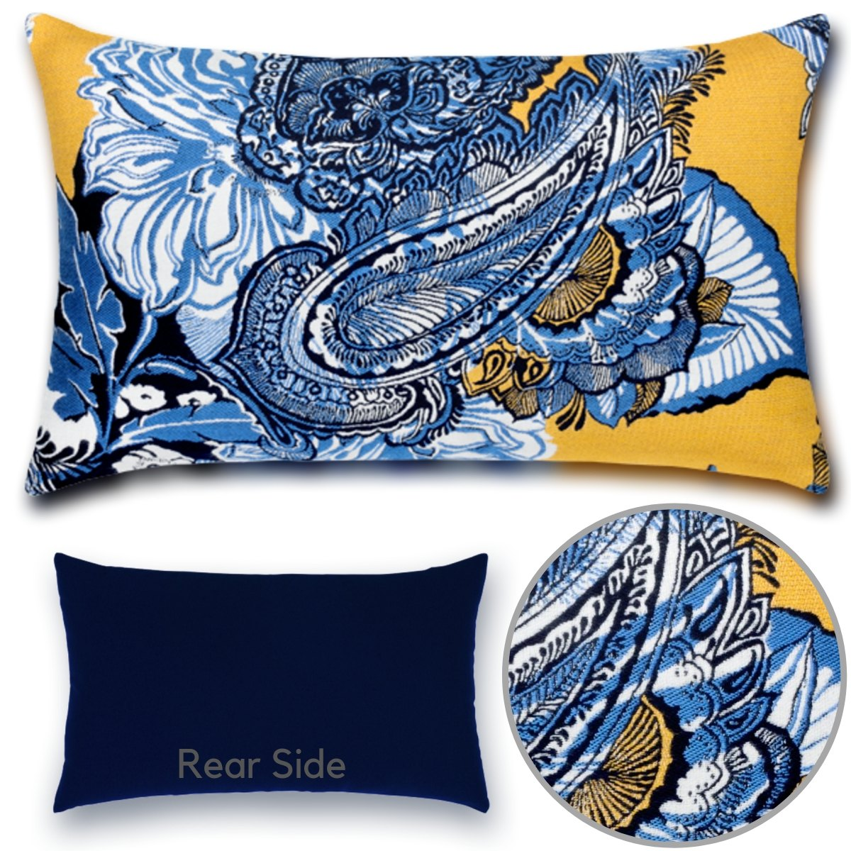 celestina royale- umbar pillow