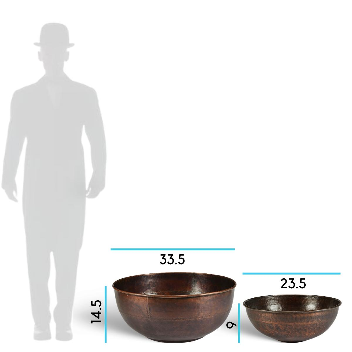 charleston-copper-bowl-planter-dimensions-sizes