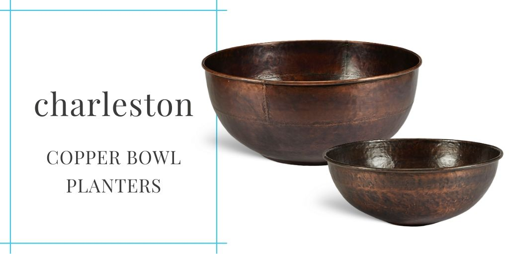charleston-copper-bowl-planters-2-sizes-for-garden