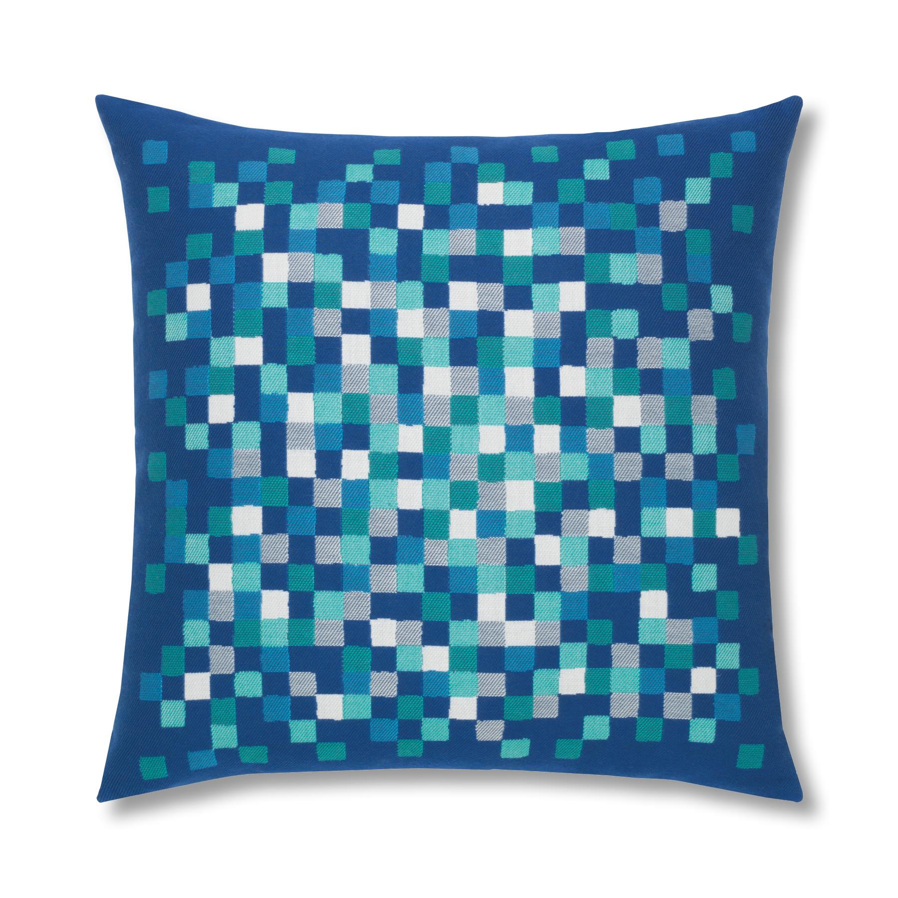 cobalt-pixel Elaine Smith Pillow