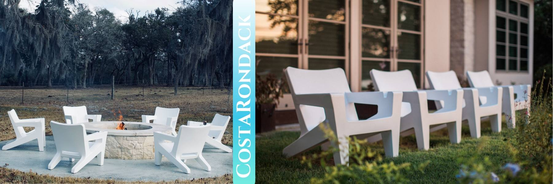 costarondack chairs for the coastal outdoors and firepit