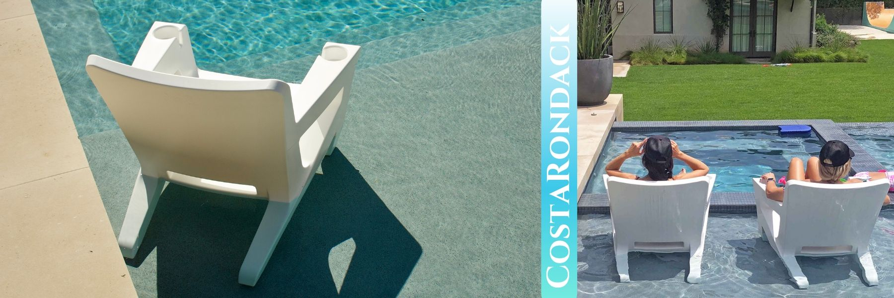 costarondack chair on the pool sunshelf