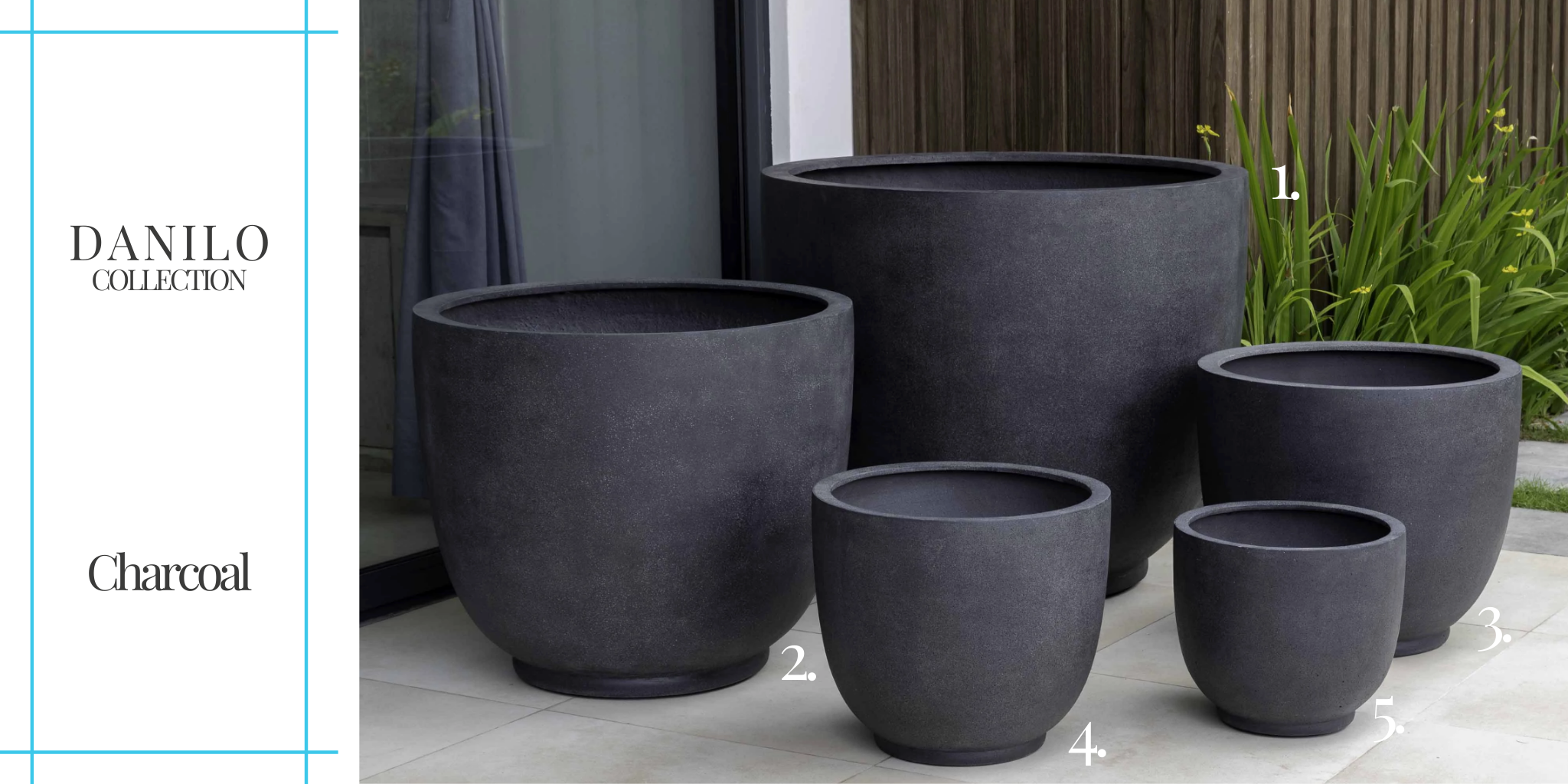 danilo-collection-charcoal planters campania