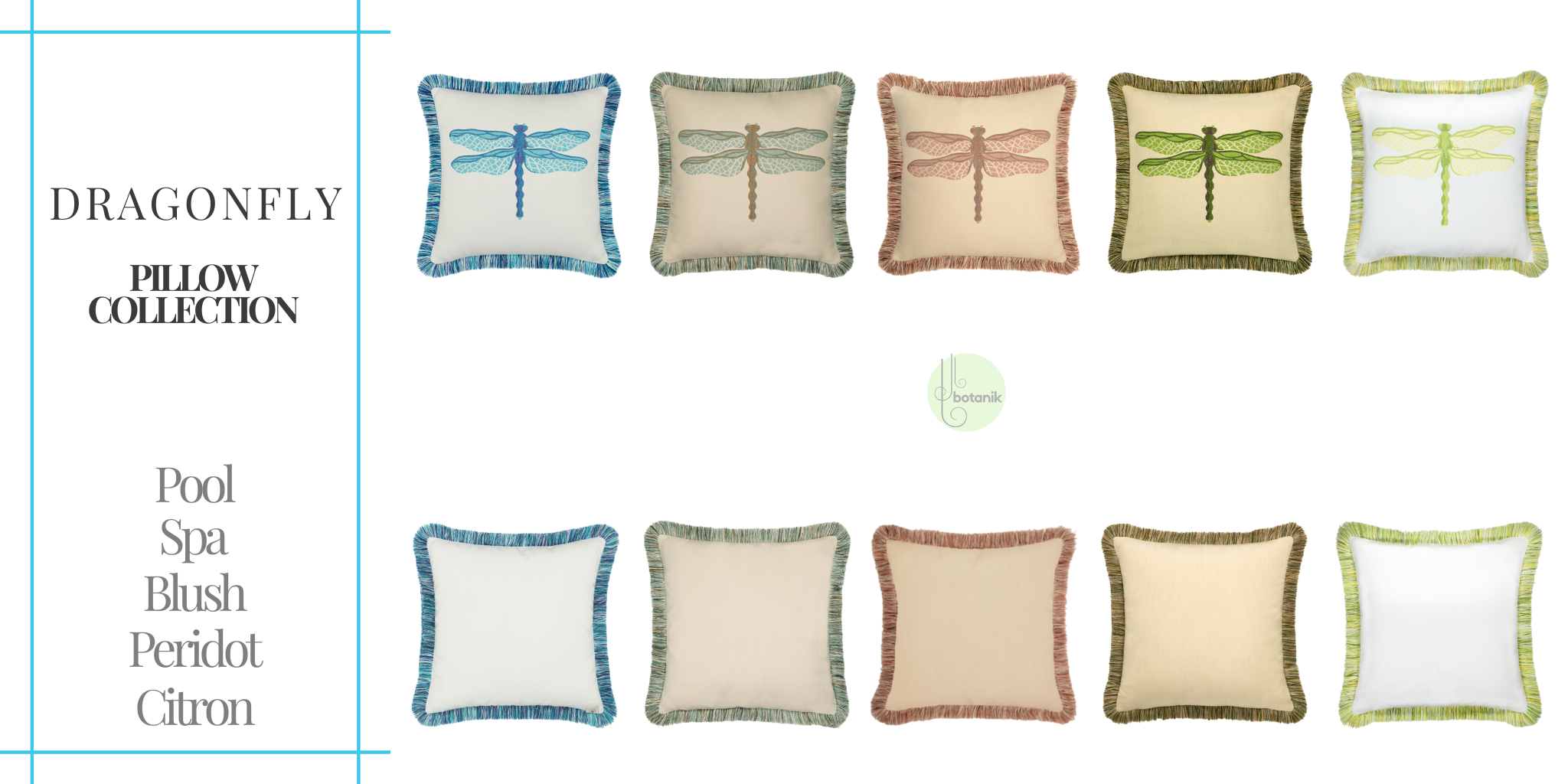 dragonfly-pillow-collection from Elaine Smith