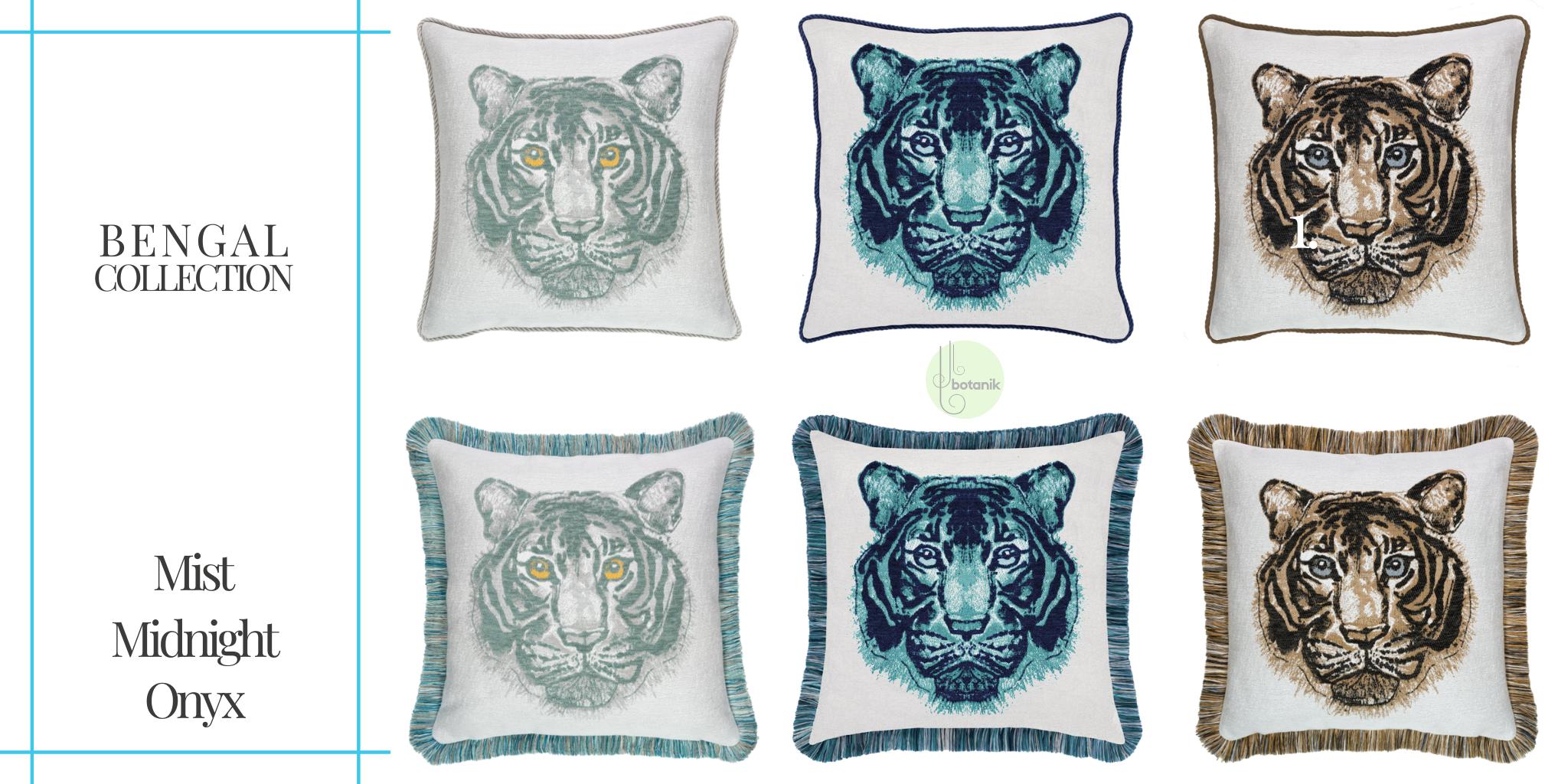 elaine-smith-bengal-collection-pillows