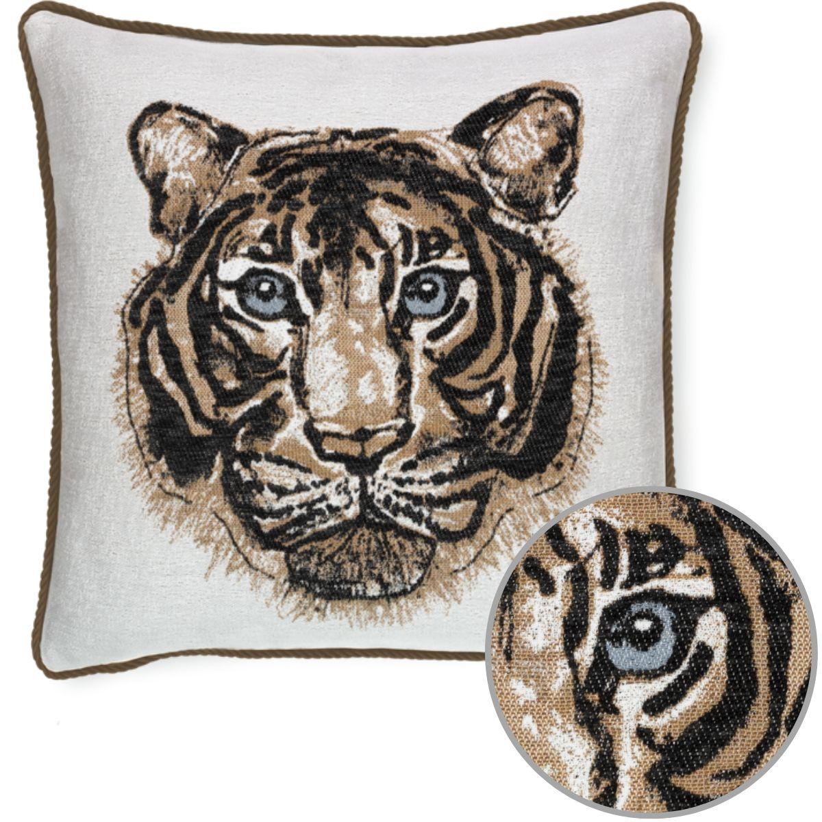 elaine-smith-bengal-onyx-corded-pillow