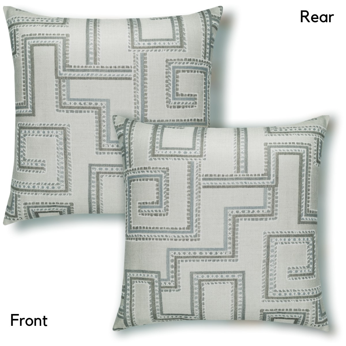 elaine-smith-maze-pillow both sides