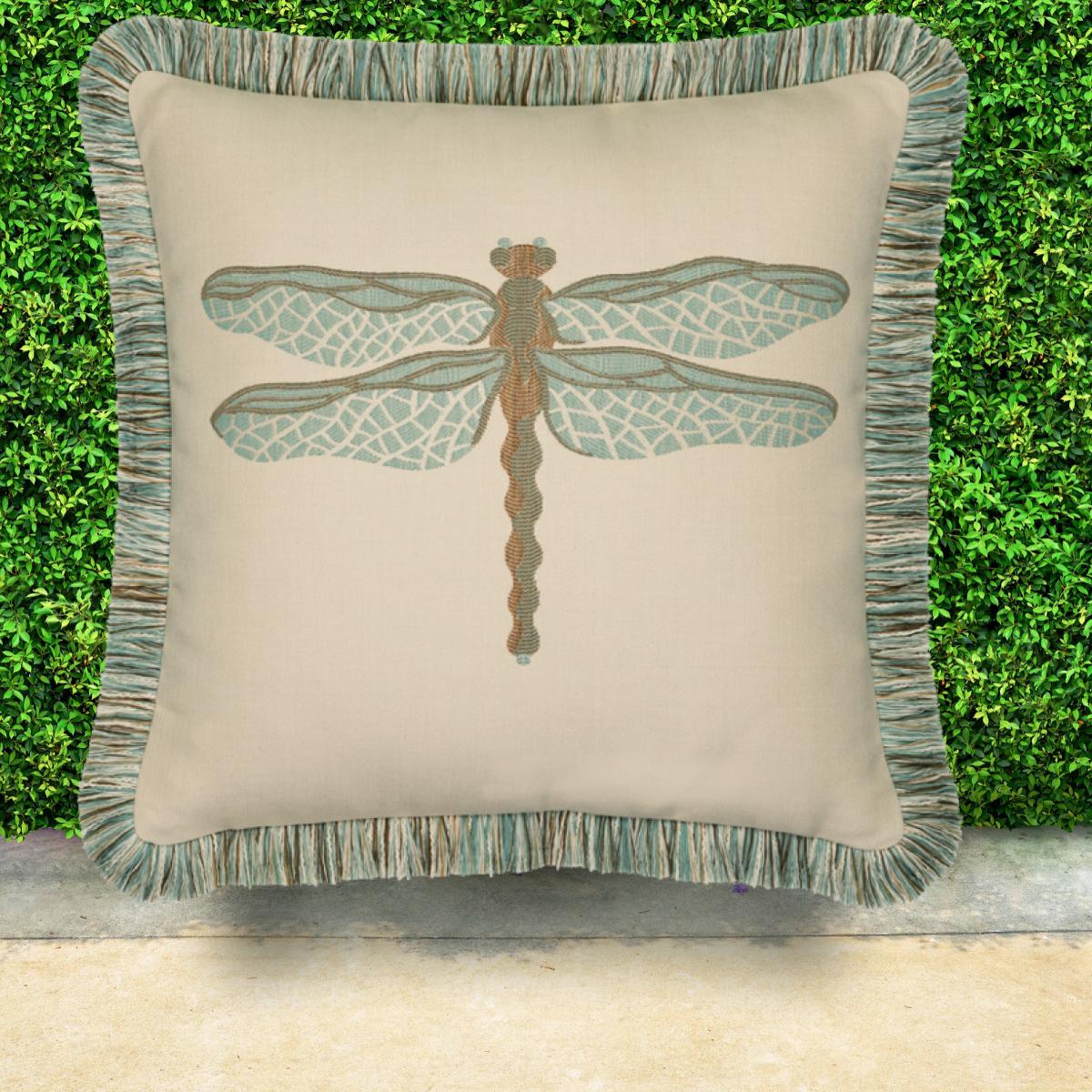 elaine-smith-sunbrella-dragonfly-pillow-spa