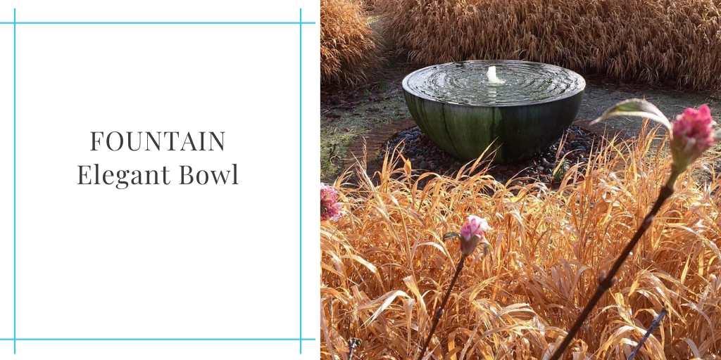 elegant-bowl-fountain installation Capital Garden