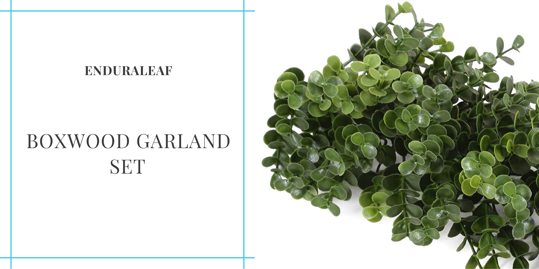 enduraleaf-boxwood-garland set