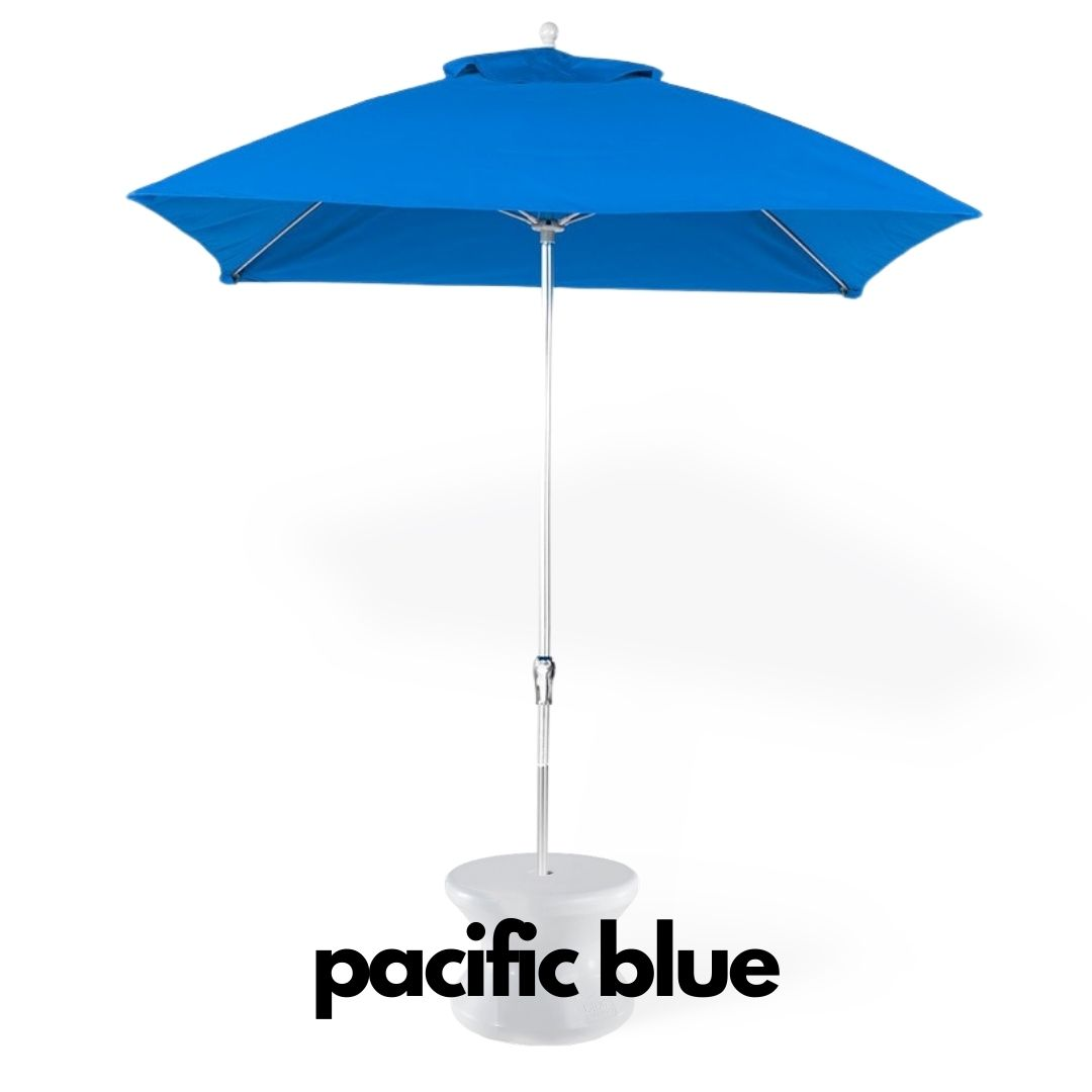 Essential Square Pacific Blue Sunbrella Umbrella