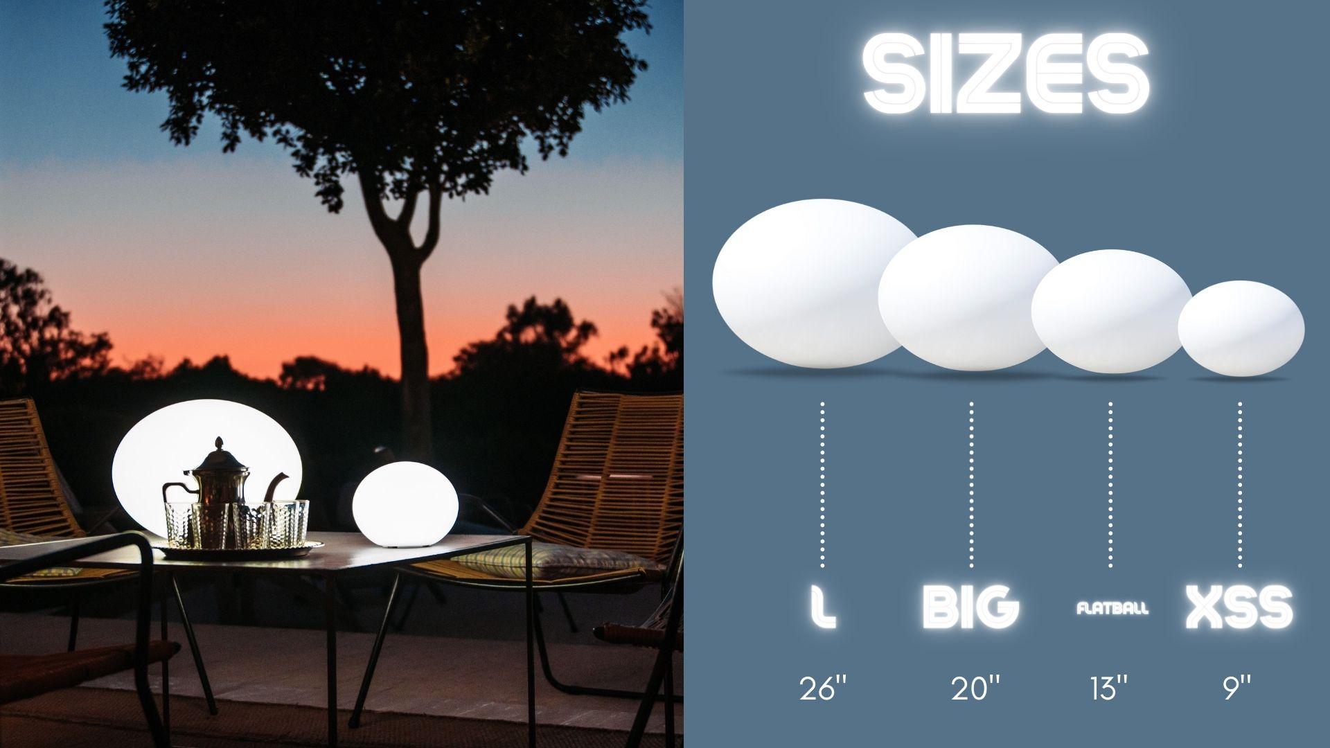flatball-sizes