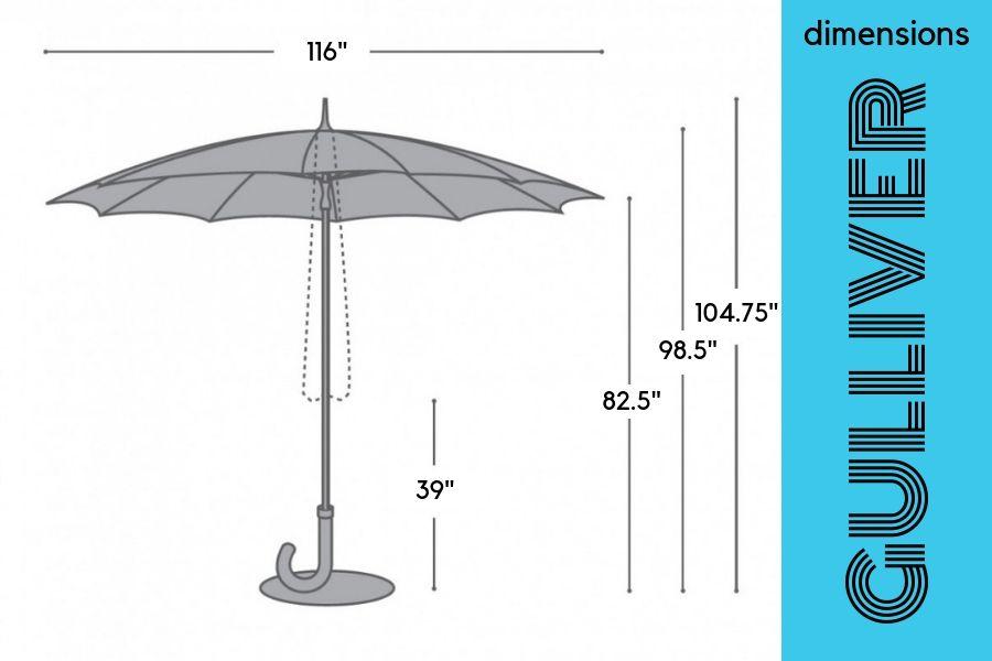 Gulliver Umbrella Dimensions