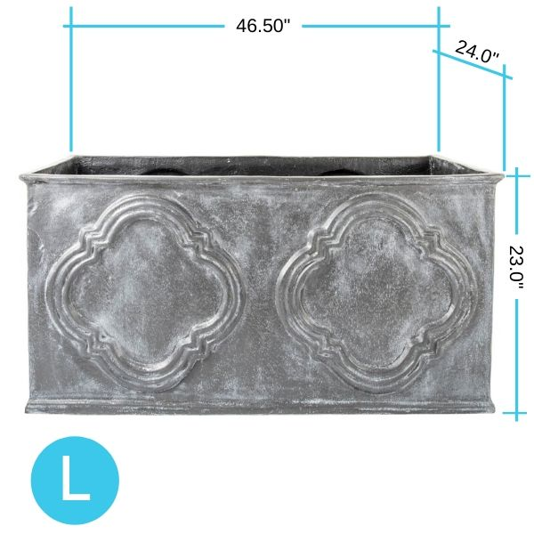 hampton-trough-planter-large-capital-garden dimensions