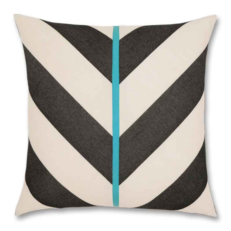 Elaine Smith Harmony chevron pillow