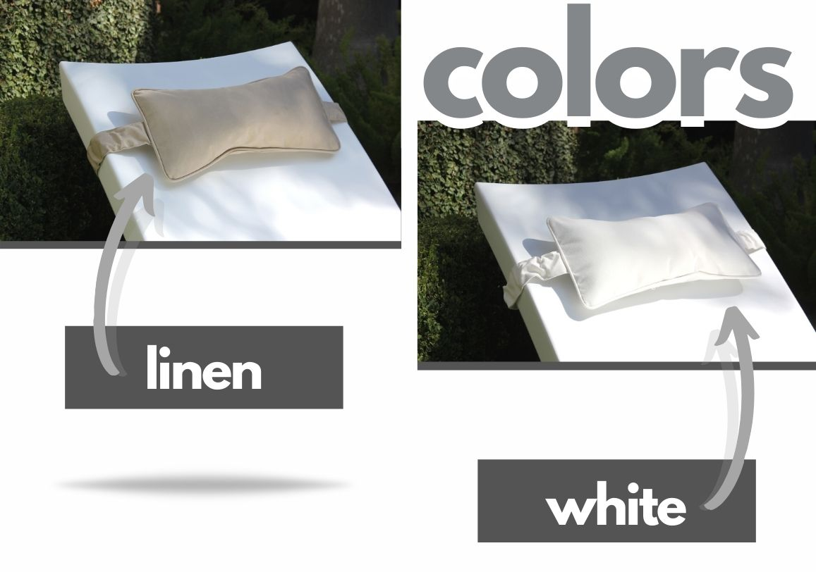 headrest-pillow-ledge-lounger white and linen