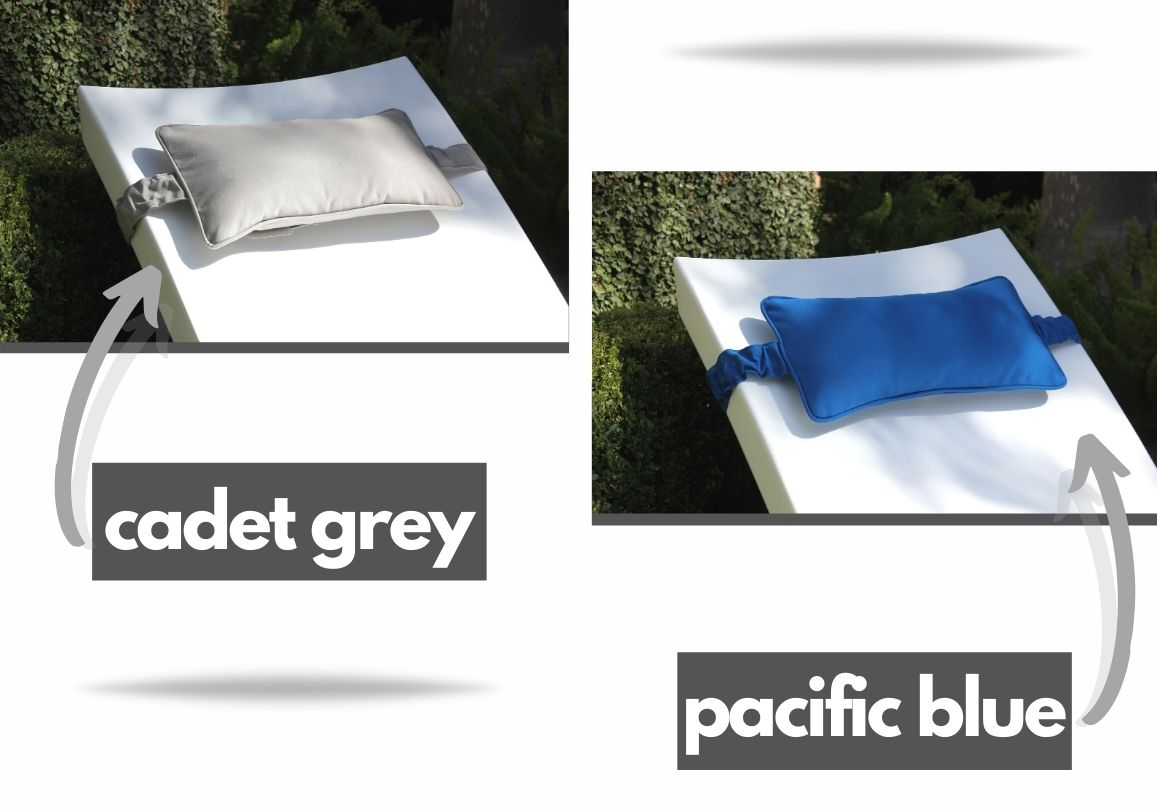 headrest-pillow-ledge-lounger cadet grey and pacific blue