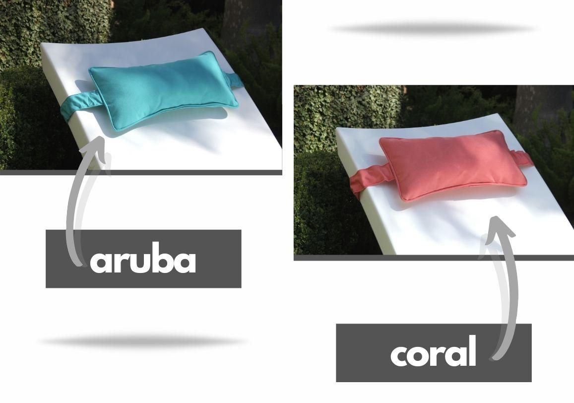 headrest-pillow-ledge-lounger aruba and coral