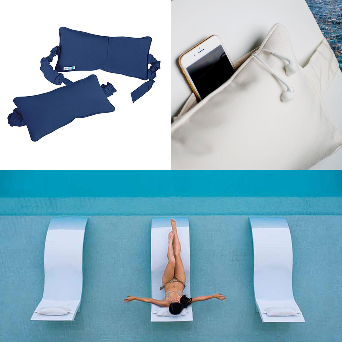 Ledge Lounger Headrest Pillow to fit the Signature Series Loungers
